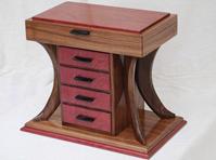 Custom Wood Jewelry Box Creative Design Made With Love