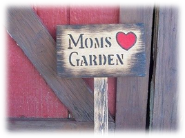 Custom Wood Garden Signs Handcrafted With Love For You
